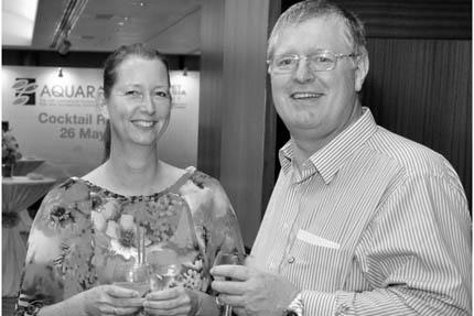 Dr Alex Ploeg z żoną Edith, fot. OFI