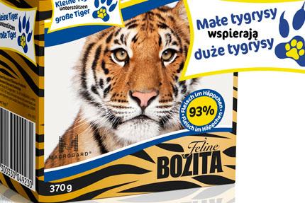 Bozita Feline Tiger Design, fot. Lantmannen