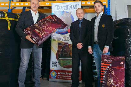 Na zdjęciu: Tadeusz Ogrodnik, Mariusz Kwaśniak, Bartosz Ogrodnik
