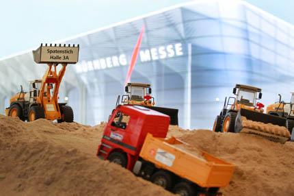 Budowa nowej hali na Interzoo 2014, fot. NürnbergMesse
