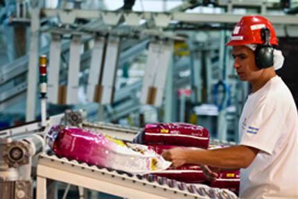 Linia produkcyjna Nestlé Purina w Argentynie, fot. Nestlé