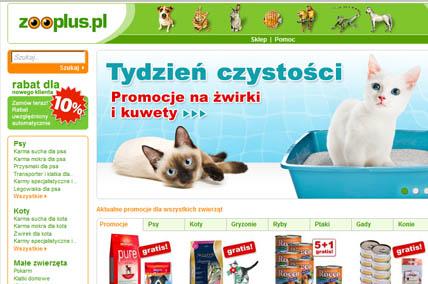 Sklep internetowy zooplus.pl