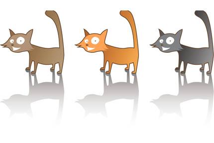 Ludzie chętniej biorą do domu koty szare i białe niż czarne, fot. iStock
