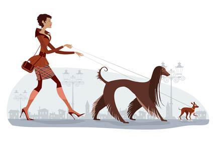 Pies sprzyja zwiększeniu aktywności fizycznej, fot. Depositphotos