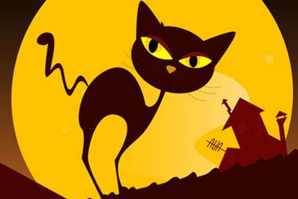 Kot prowadzi nocny tryb życia, fot. Depositphotos